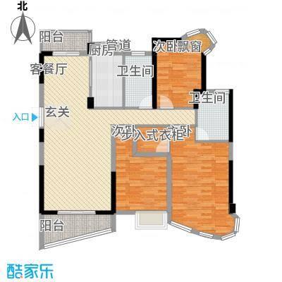南昌铜锣湾广场5#楼C户型