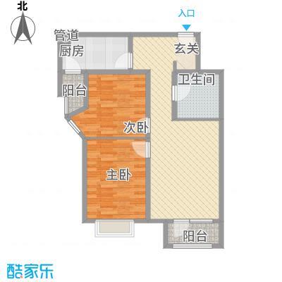 秦皇岛华润橡树湾二期11#毛坯N户型