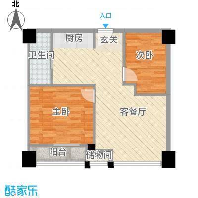 锦绣公寓9栋南向()户型