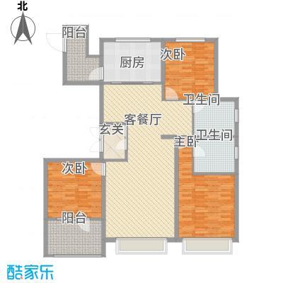 博辉万象城157.00㎡4#F户型3室2厅2卫1厨