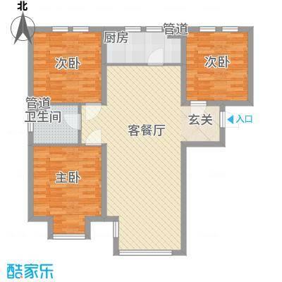 香邑・拉菲堡6#楼A户型