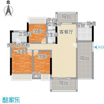 东江学府5期7栋3D2户型