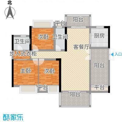 东江学府5期6栋3D1户型
