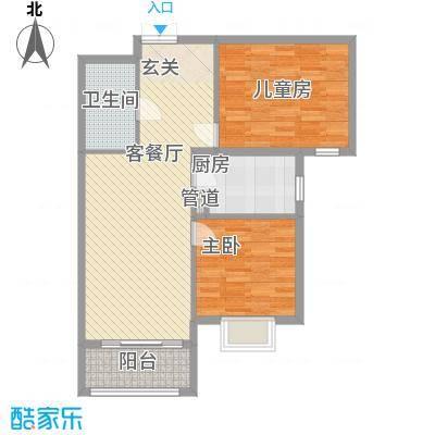 北京御园B25两居户型
