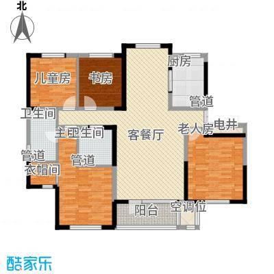 碧桂园银河城天墅J477户型