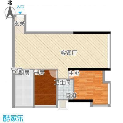 达兴豪苑11.14㎡1座11/12/13/14号户型2室2厅1卫1厨