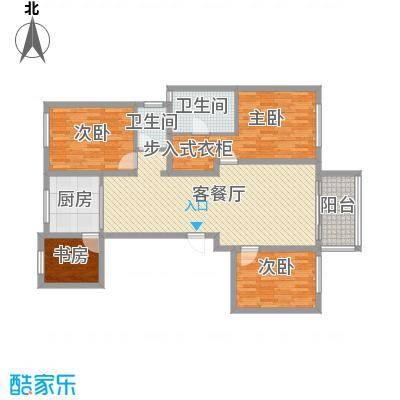 华苑小区7号楼A4居户型