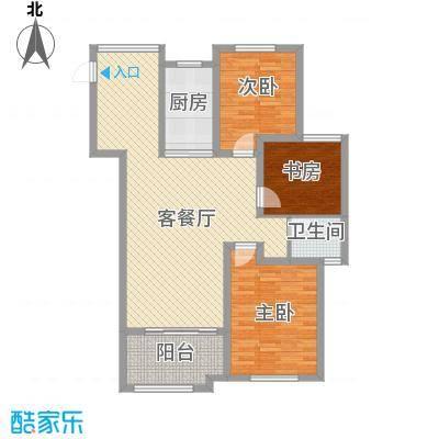 华苑小区5#楼一单元、4#楼二单元三居户型