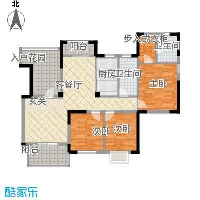 华新苑13.00㎡户型4室