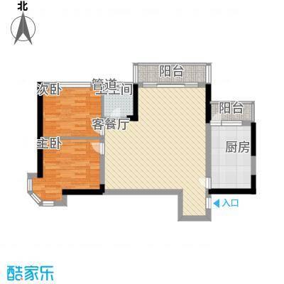 青桦逸景一期27、28#楼G户型