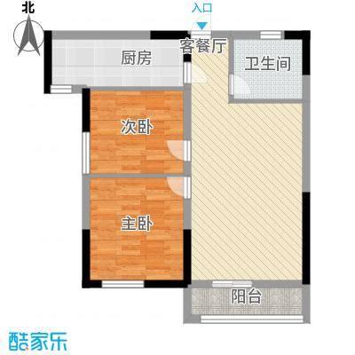 青桦逸景一期23、25、26#楼E户型