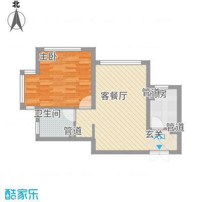 金地经典61.50㎡3-5#楼户型