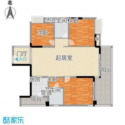 万林湖别墅13.87㎡和院三组团J区D3户型3室2厅2卫
