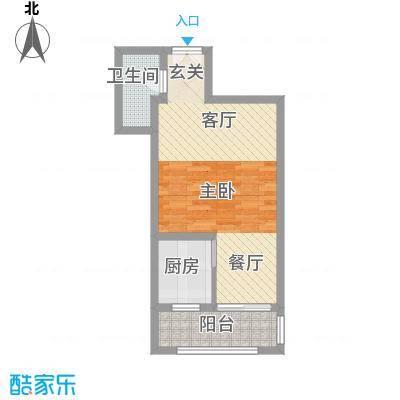 盛世尚水城G10#楼C户型