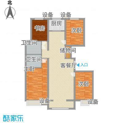 金宇・新天地182.00㎡住宅户型4室2厅2卫