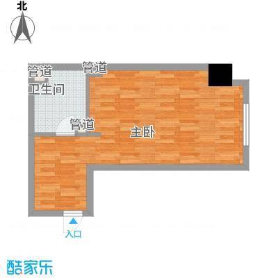 金宇・新天地58.68㎡D公寓户型