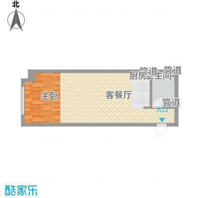 金宇・新天地63.81㎡F公寓户型
