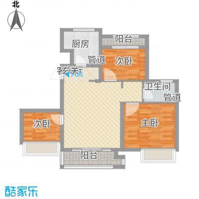 象屿上海年华B2户型