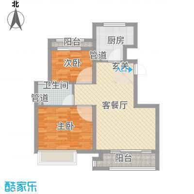 象屿上海年华A1户型