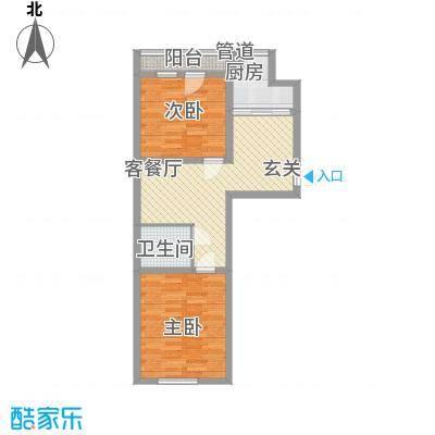 荣旺天下四期F4号楼B户型