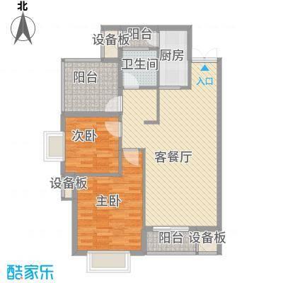 富中蝴蝶谷2期1-4-C户型