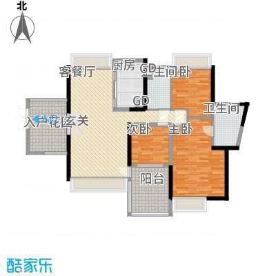 星光礼寓133.52㎡4栋2-27层0户型3室2厅2卫1厨