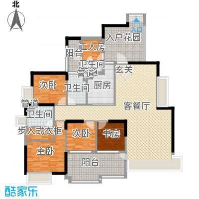 星光礼寓178.15㎡3栋19-27层0户型5室2厅3卫1厨