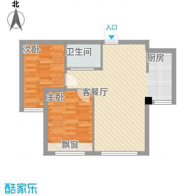 海天富地2、3、5-9#楼D户型