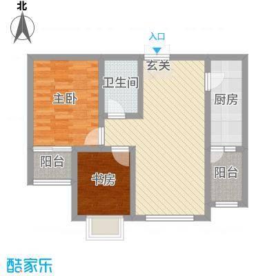 宏润翠湖天地5楼E2户型