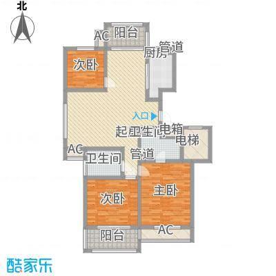 外海蝶泉山庄别墅116.22㎡G户型3室2厅2卫