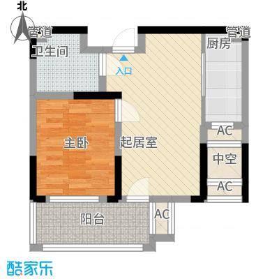 外海蝶泉山庄别墅64.50㎡E10'户型2室2厅1卫