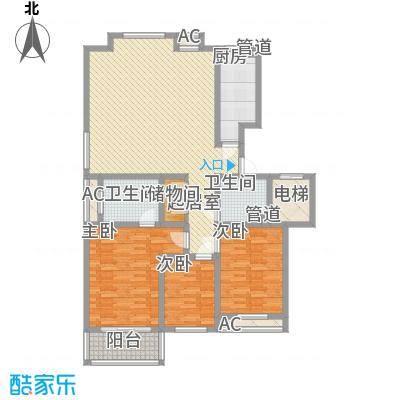 外海蝶泉山庄别墅116.85㎡F户型3室2厅2卫
