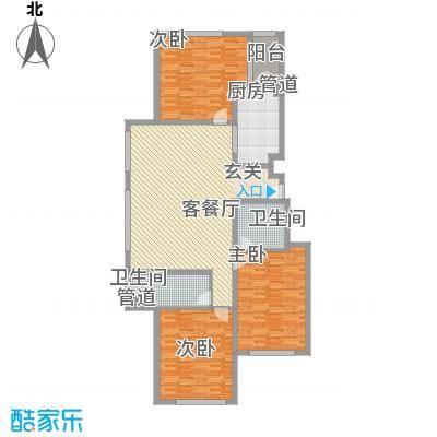 正园147.41㎡2#4#楼户型