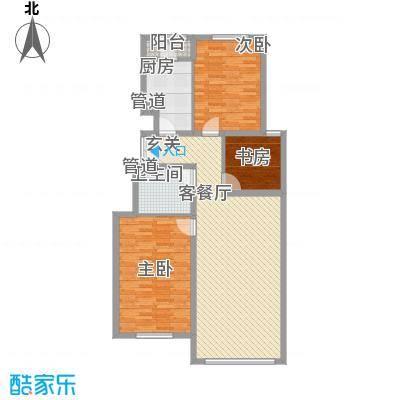 正园8.30㎡2#4#楼户型