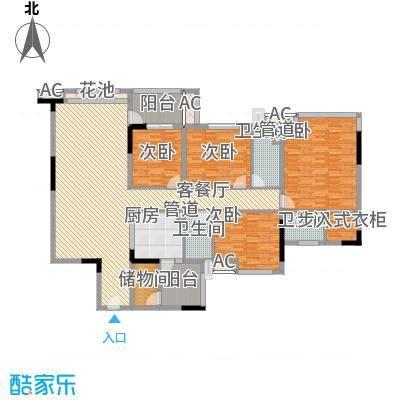 松山湖紫檀山别墅户型