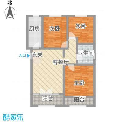 鼎晟国际10-12#楼H户型