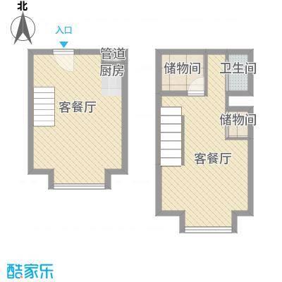 燕赵锦河湾公寓C4户型