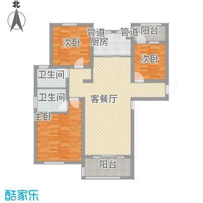 德仁・翡翠城137.51㎡C1户型