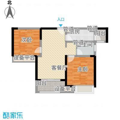宝龙城高层标准层C户型