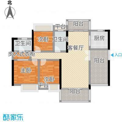 东江学府5期7栋3D3户型