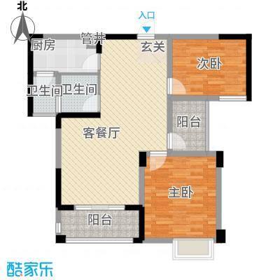 远大尚林苑12#H2户型