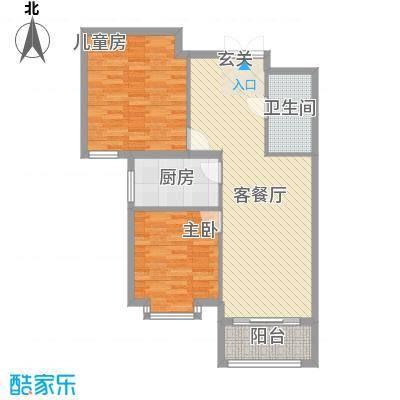 北京御园B24两居户型