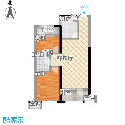 华润海中国六期4、5号楼D户型