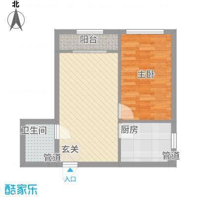 福顺尚景1号楼户型