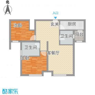 万锦香颂N6户型