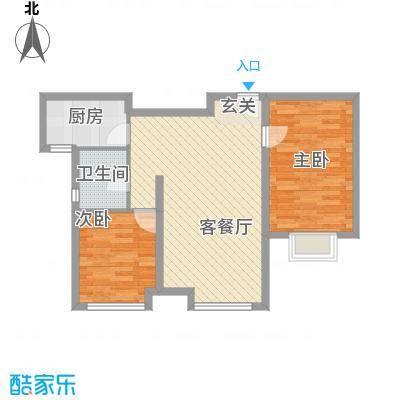 万锦香颂N2户型