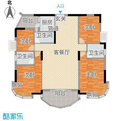 景亿凤凰谷17.00㎡凤凰别馆―豪华型户型4室2厅3卫