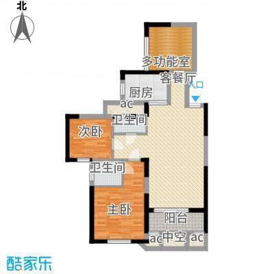 中航山水蓝天17-18#栋G1-3户型