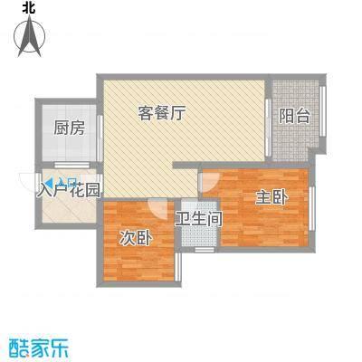 华苑小区8号楼E2居户型
