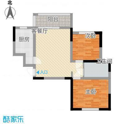 青桦逸景一期23、25、26#楼F户型
